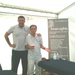 Innersights Tutor Mario and Zoli - waiting for the Reigate Half Marathon runners to arrive - the before shot!